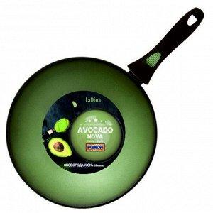 WOK Avocado алюминиевая с антипригарным керамическим покрытием 28 см