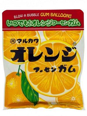 """Жевательная резинка Marukawa Orange """"Апельсин"""", 47 гр"""