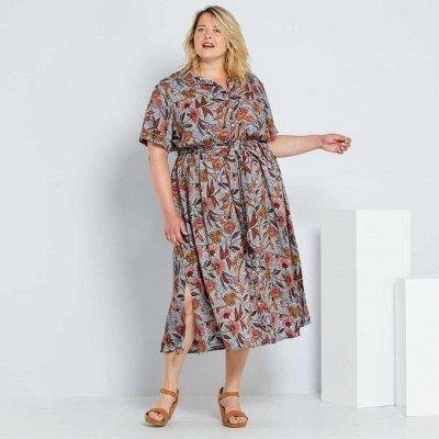 Французская одежда для всей семьи. Зимняя РАСПРОДАЖА ДО -70% — Большие размеры для женщин. Платья, юбки — Большие размеры