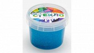 """Слайм """"Стекло"""" с голубыми блестками, 100 гр"""