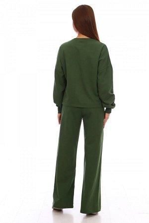 Костюм Ткань: Футер; Размеры: 52, 42, 44, 46, 48, 50; Цвет: Зелёный