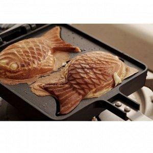"""Корейская вафельница """"Рыбки с начинкой"""""""