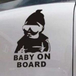 """Наклейка на авто """"Baby on Board"""""""