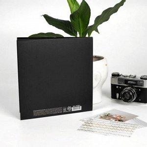 Фотокнига с черными листами Unicorn. 23 х 23 см