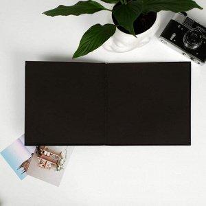 Фотокнига с черными листами This is magic. 23 х 23 см