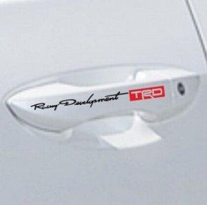 ЗD наклейка на ручку авто Racing Development TRD наклейка на ручку авто