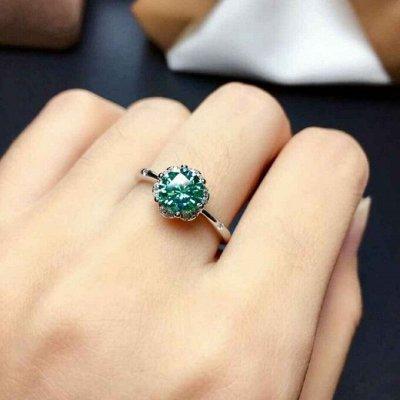 СЕРЕБРО РОССИИ! Огромный ассортимент💍 Лучший подарок 🎁 — Кольца с драгоценными вставками — Ювелирные кольца