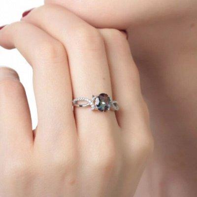 СЕРЕБРО РОССИИ! Огромный ассортимент💍 Лучший подарок 🎁 — Кольца с кварцем 1 ЛИКВИДАЦИЯ — Ювелирные кольца