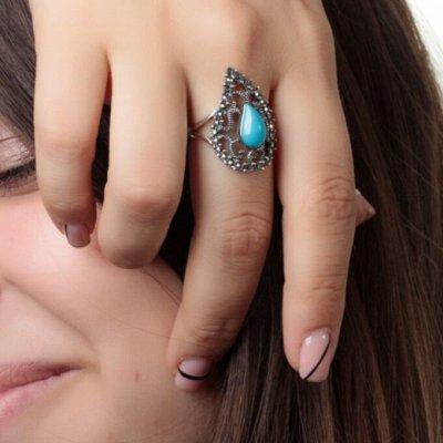 СЕРЕБРО РОССИИ! Огромный ассортимент💍 Лучший подарок 🎁 — Кольца с марказитами — Ювелирные кольца