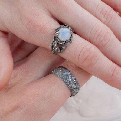 СЕРЕБРО РОССИИ! Огромный ассортимент💍 Лучший подарок 🎁 — Кольца с поделочными вставками — Ювелирные кольца