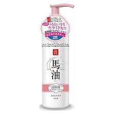 Lishan Лосьон-Молочко для тела с лошадиным жиром и термальной водой (с ароматом сакуры)