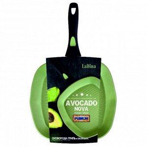 Сковорода Гриль Avocado алюминиевая с антипригарным керамическим покрытием 28 см