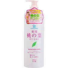 Увлажняющий и освежающий лосьон с экстрактом листьев персика/детский  500мл