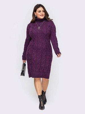 Платье вязаное 27015