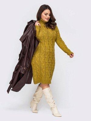 Платье вязаное 27015/1