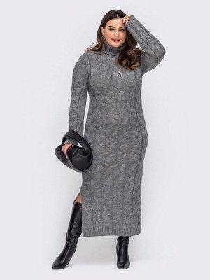 Платье вязаное 27016/2