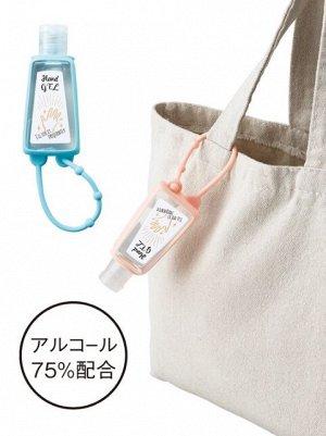 Дезинфицирующий гель для рук на сумку.