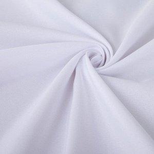 Скатерть однотонная, цв., d 300, 100% п/э