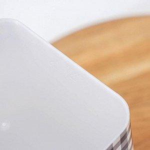 Ёмкость Альтернатива «Плетёнка. Чай» с ложкой