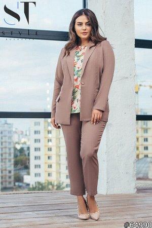 Костюм 64990 (пиджак+блузка+брюки)
