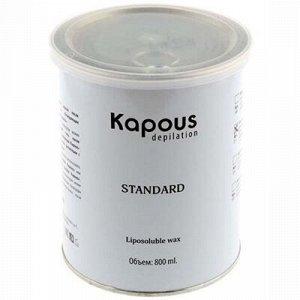 """Kapous, 387 Жирорастворимый воск """"GOLD"""" в банке, 800мл"""
