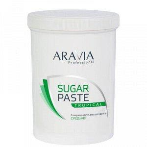 """ARAVIA Professional 1054, Сахарная паста для шугаринга """"Тропическая"""" средней конс., 1500 гр"""