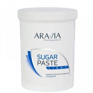 "ARAVIA Professional 1055, Сахарная паста для шугаринга ""Легкая"" средней консистенции, 1500 гр"