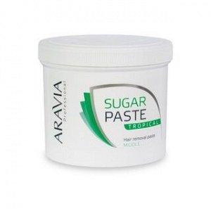 """ARAVIA Professional 1016, Сахарная паста для шугаринга """"Тропическая"""" средней плотности, 750 гр"""