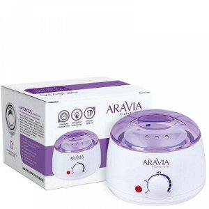 ARAVIA Professional 8012, Нагреватель с термостатом (воскоплав) 500 мл сах. паста и воск, 1 шт