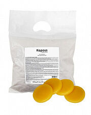 Kapous, 342 Горячий воск желтый Натуральный в дисках, 1000 гр