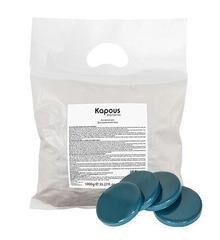 Kapous, 344 Горячий воск синий с Азуленом в дисках, 1000 гр