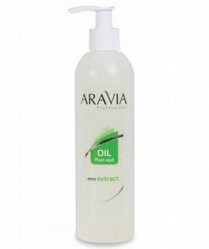 ARAVIA Professional 1025, Масло после депиляции с экстрактом мяты, 300 мл