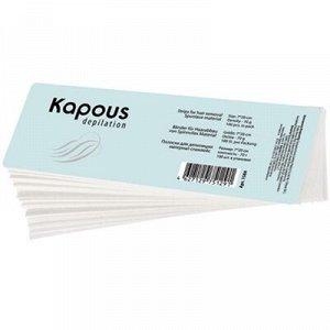 Kapous, 1584 Полоска для депиляции, спанлейс, 7*20см, 100 шт/уп