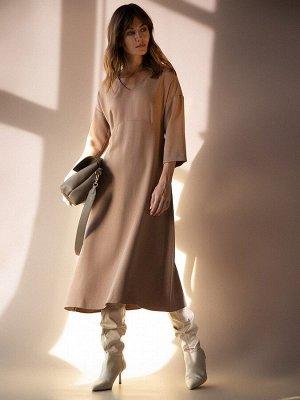 Однотонное платье PL1086/arman