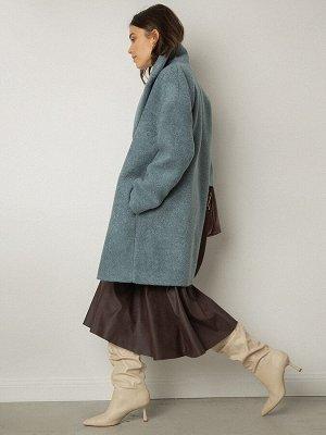 Пальто из структурной ткани R066/emerson