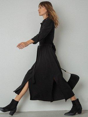 Платье А-силуэта рубашечного кроя PL864/veluna
