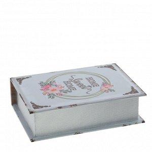 Шкатулка-книга, L23 W17 H6 см