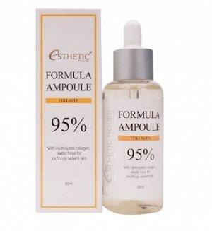 Сыворотка с коллагеном для упругости кожи Formula Ampoule Collagen