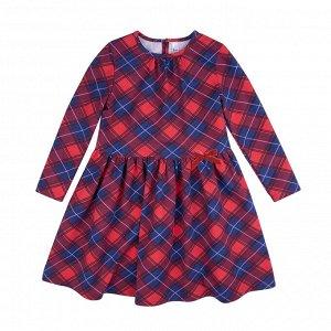 Платье Количество в упаковке: 1; Артикул: BN-146П-177-К; Цвет: Красный; Ткань: Кулирка с лайкрой; Состав: 95% хлопок, 5% эластан; Цвет: Красный Скачать таблицу размеров
