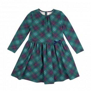 Платье Количество в упаковке: 1; Артикул: BN-146П-177; Цвет: Зелёный; Ткань: Кулирка с лайкрой; Состав: 95% хлопок, 5% эластан; Цвет: Зелёный Скачать таблицу размеров