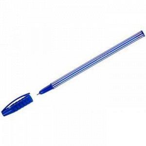 """Ручка шариковая """"Stripes"""" синяя 0.55мм  31131 Luxor {Индия}"""