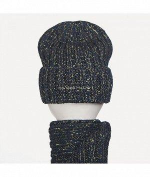 55500 флис (колпак+шарф) Комплект