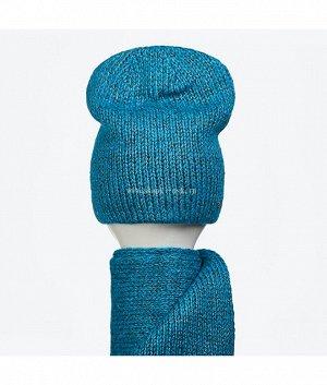 588205 1/2 флис (колпак+шарф) Комплект