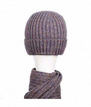 4518 флис (шапка+шарф) Комплект
