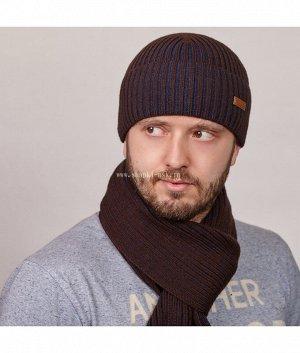 851 T флис XXL (шапка+шарф) Комплект