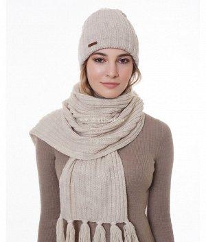 M 1055 S 1055 флис (колпак+шарф) Комплект