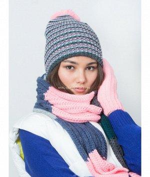 XM 5 XS 5 флис (колпак+шарф) Комплект