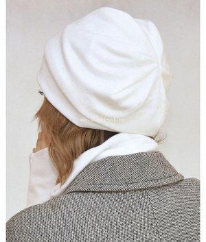 Милана-1 ангора (шапка+воротник) Комплект