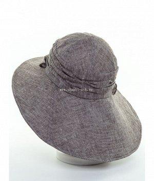 Милена меланж (лен) Шляпа