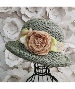 Элен 2-розы Елочка н/соломка Шляпа